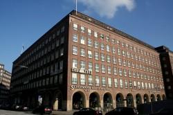 Die ZEIT-Redaktion im Hamburger Helmut-Schmidt-Haus (1938 für das nationalsozialistische Hamburger Tageblatt gebaut). / David Kostner